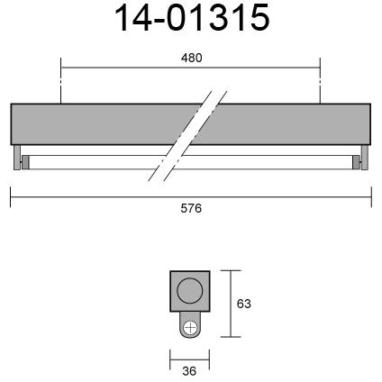 MINI T5 DIM 1-10V